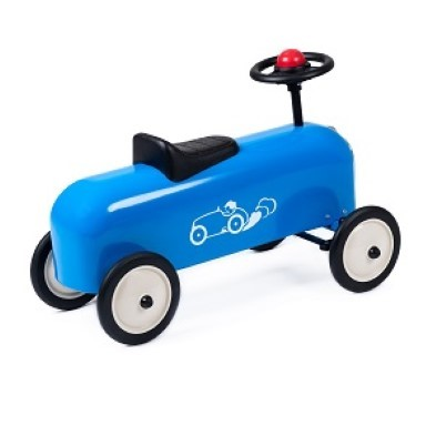 baghera ride on racer blue side
