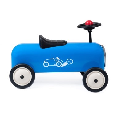 Baghera blue racing car