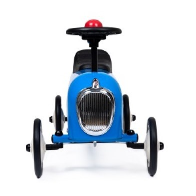 BAghera ride on racer blue front