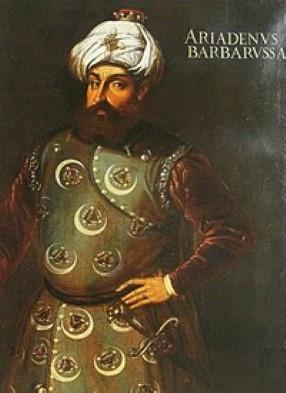 Pirate Barbarossa (aka 'Redbeard')