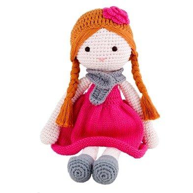 banbe crochet doll Ava by Imajo