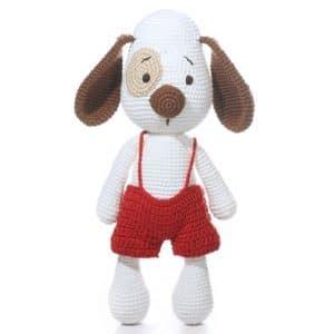 Crochet Dog Noel