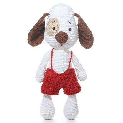 crochet dog noel imajo banbe range