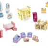 Tidlo dolls house furniture bundle set