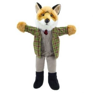 Dressed Fox Hand Puppet