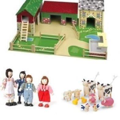 toy farm set for kids tidlo Oldfield farm