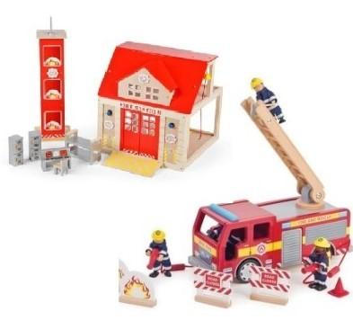 Fire Station Toy Bundle