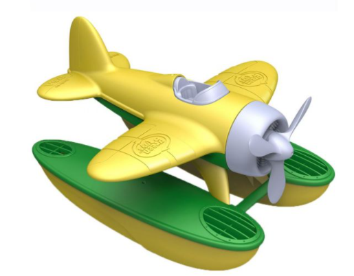 Bigjigs saeplane yellow wings