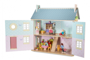 Bay Tree House Wooden Doll's House
