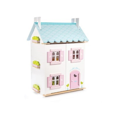 blue bird cottage dolls house