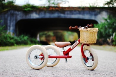 trybike 2 in 1 vintage red
