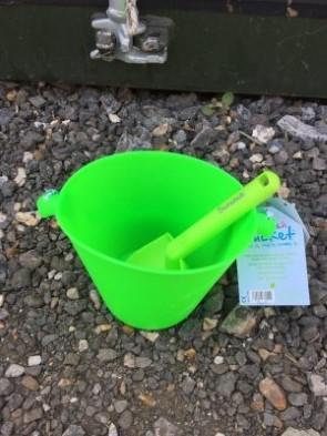 Scrunch spade green