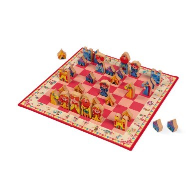 janod carousel chess game