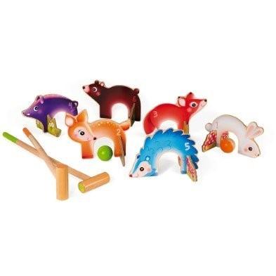 Janod Forest Animals Croquet Set