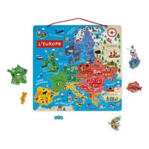 Magnetic European Puzzle