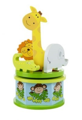safari musical carousel by orange tree toys