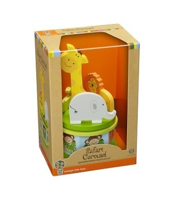 safari musical carousel by orange tree toys boxed