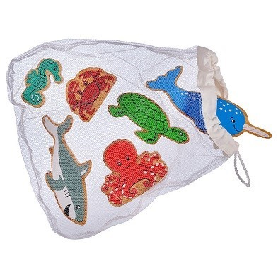 sealife animal bag of 6 by lanka kade bag