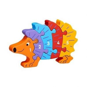 hedgehog 1-5 jigsaw puzzle by lanka kade