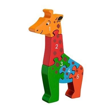 giraffe jigsaw puzzle 1-5 by lanka kade