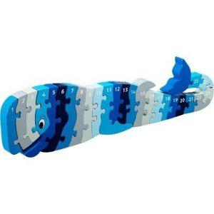 Lanka Kade Whoopi the Whale 1-25 Jigsaw Puzzle