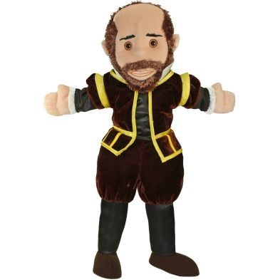 shakespeare hand puppet by the puppet company