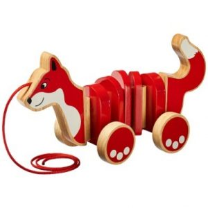 Fox Pull Along Wooden Toy