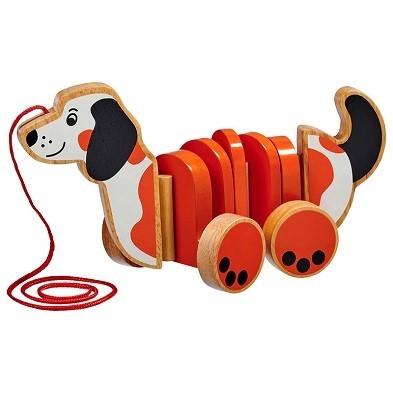 pull along dog by lanka kade