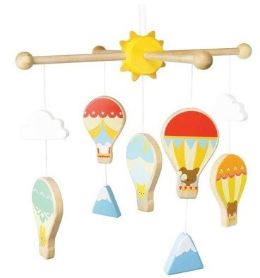 le toy van hot air balloons mobile