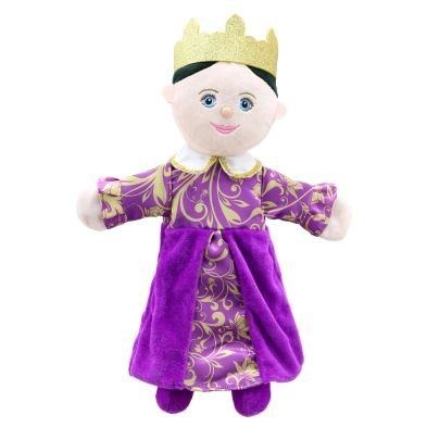 Queen hand puppet by The Puppet Company