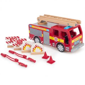 Tidlo Wooden Fire Engine