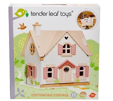 cottontail cottage dolls house box