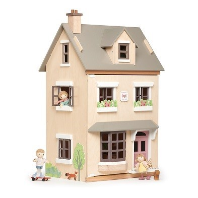 tender leaf toys foxtail villa wooden dolls house