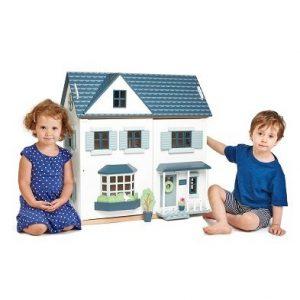 tender leaf toys dovetail house wooden dolls house