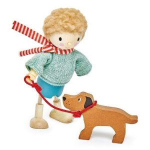 mr goodward and his dog tender leaf toys