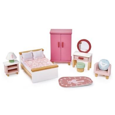 Dovetail bedroom doll house furniture set