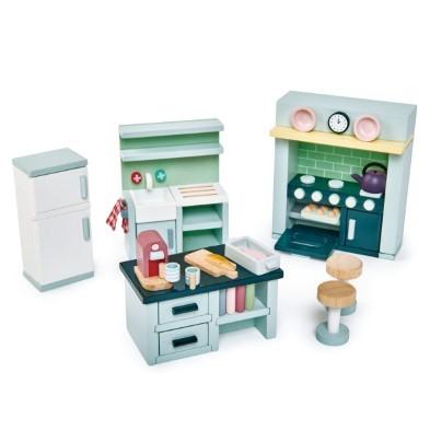 dovetail kitchen doll house furnture set