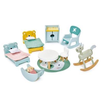Doveteil kids room doll house furniture set