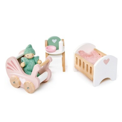 dovetail nursery doll house furniture set