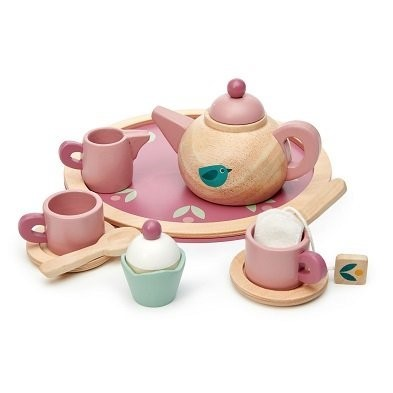birdie tea set by tender leaf toys