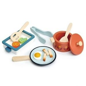 toy pots and pans by tender leaf toys