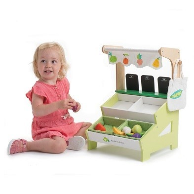 kids vegetable stand
