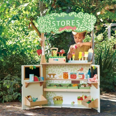 woodland stores and theatre by tender leaf toys open shop