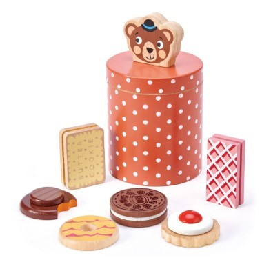 Bears Biscuit Barrel by Tender leaf toys