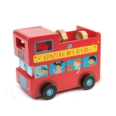 london bus money box by Tender Leaf Toys