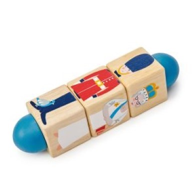 London Twister wooden toy