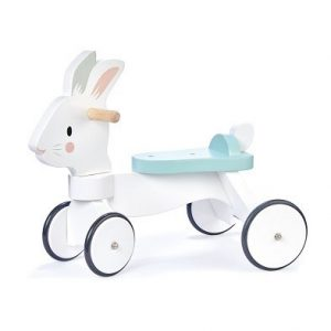 running rabbit ride on tender leaf toys
