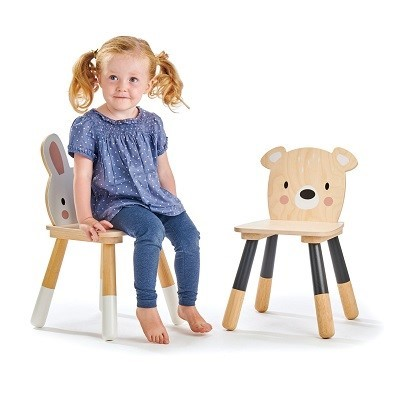 rabbit and bear chairs