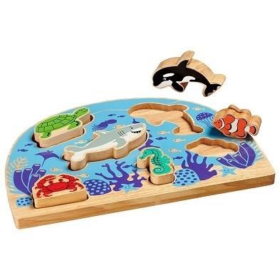 sealife shape sorter by lanka kade