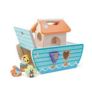 shape sorter toy le toy van le petit ark